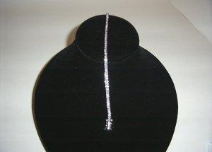 Sterling Silver Lavender CZ Tennis Bracelet 31-0006