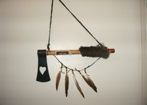 Throwing Hawk- Hanging Deco Tomahawk  70-0004