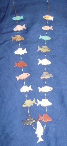 All Sea Animal Necklace-Fish