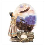 Spirit in the Sky Plate Votive Holder