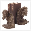 """Liberty Bronze"" Horse's Head Bookends"