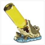 Crocodile wine Bottle Holder