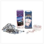 Dominos and Jigsaw Puzzle Twin Pack