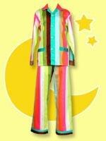 Tepper Jackson Izzy Stripe Lounger Pajama Set - New Never Been Worn