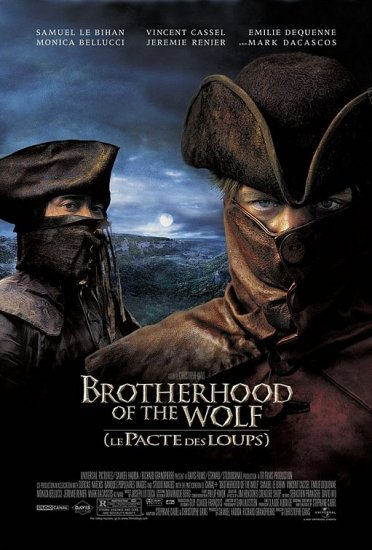 DVD -- Brother of the Wolf [Le Pacte des Loups]