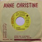 Christine, Anne - It's Gonna Take A Little Bit Longer - Vinyl 45 Record - Promo - Female Country