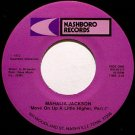 Jackson, Mahalia - Move On Up A Little Higher Part 1 / Part 2 - Vinyl 45 Record on Nashboro - Gospel