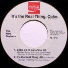 New Seekers, The - Coca Colo Promo - Buy The World A Coke - Vinyl 45 Record - Folk