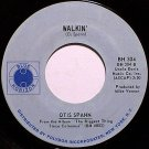 Spann, Otis - Walkin' / Hungry Country Girl - Vinyl 45 Record on Blue Horizon - Blues