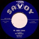 Marshalls - Mr. Santa's Boogie / Who'll Be The Fool - Vinyl 45 Record - Savoy Christmas Doo Wop