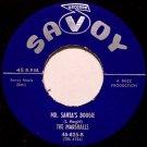 Marshalls - Mr. Santa's Boogie / Who'll Be The Fool - Vinyl 45 Record - Savoy Christmas Doo Wop