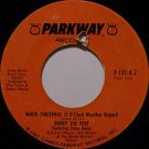 Bobby The Poet - White Christmas (3 O'Clock Weather Report) - Vinyl 45 Record on Parkway