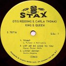 "Redding, Otis & Carla Thomas - King And Queen - Vinyl 7"" EP Record - R&B Soul"