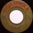 Ovations, The - I'm Living Good / Recipe For Love - Vinyl 45 Record on Goldwax - R&B Soul