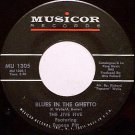 Jive Five Featuring Eugene Pitt - Blues In The Ghetto / Sugar - Vinyl 45 Record - R&B Soul