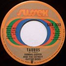 Coffey, Dennis Detroit Guitar Band - Taurus / Can You Feel It - Vinyl 45 Record on Sussex - R&B Soul