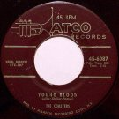 Coasters, The - Young Blood / Searchin' - Vinyl 45 Record on Atco - R&B Soul
