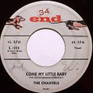 Chantels, The - Come My Little Baby / Maybe - Vinyl 45 Record on End - R&B Soul