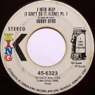 Byrd, Bobby - I Need Help I Can't Do It Alone Pt. 1 / Pt. 2 - Vinyl 45 Record on King - R&B Soul