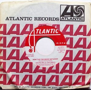 Bell, Archie & The Drells - Don't Let The Music Slip Away / Houston - Vinyl 45 record - R&B Soul