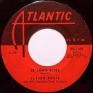 Baker, Lavern - St. Louis Blues / Miracles - Vinyl 45 Record on Atlantic - R&B Soul