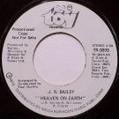 Bailey, J.R. - Heaven On Earth / After Hours - Vinyl 45 Record on Toy - Promo - J. R. - R&B Soul