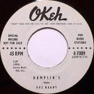 Bagby, Doc - Dumplin's / Sylvia's Callin' - Vinyl 45 Record on Okeh - Dumplins - R&B Soul