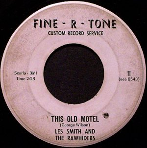 Smith, Les And The Rawhiders - This Old Motel / I'm In Love - Vinyl 45 Record - Country