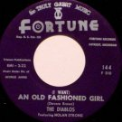 Diablos Featuring Nolan Strong - Adios My Desert Love - Vinyl 45 Record on Fortune - R&B Soul