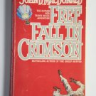 Free Fall In Crimson by John D. MacDonald a Travis McGee murder mystery novel