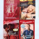 Lori Foster Romance Book Lot 6 four novels