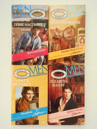 Retro Romance Book Lot 1 Silhouette four novels
