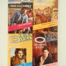 Retro Romance Book Lot 1 Silhouette four novels