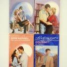Retro Romance Book Lot 3 Loveswept four novels