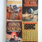 Isaac Asimov Science Fiction Book Lot 4 novels short story collections