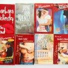 Mixed Romance Book Lot 8 novels Delinsky Roberts Krentz Kenner Sterling