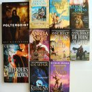 Mixed Fantasy Book Lot novels 10