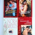 Mixed Romance Book Lot 4 novels Nora Roberts Maureen Child Vicki Lewis Thompson