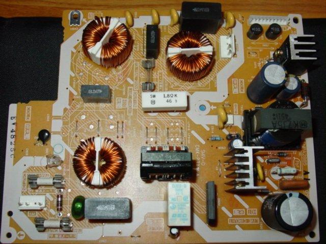 Panasonic Plasma TV - TH-42PD25 & TH-37PD25 - TNPA2885 - Power Filter Board
