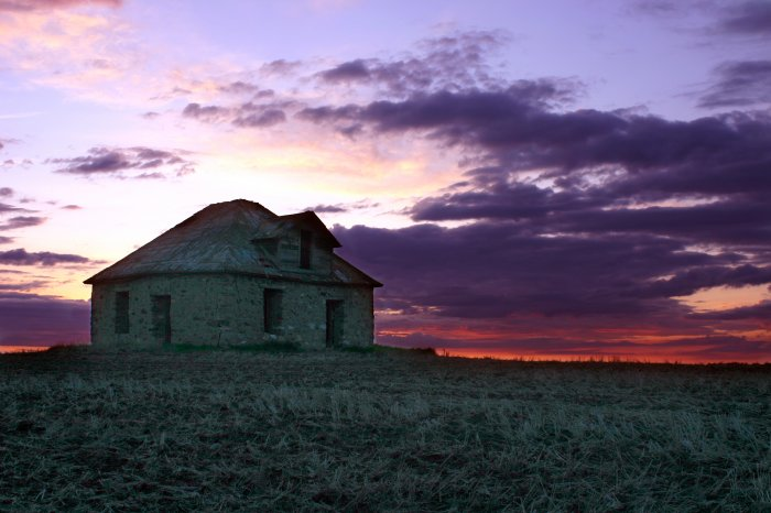 Stonehouse Sunset 8x10 Photo Print (Unframed)