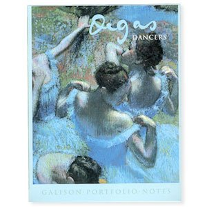 Degas Dancers Note Card Portfolio
