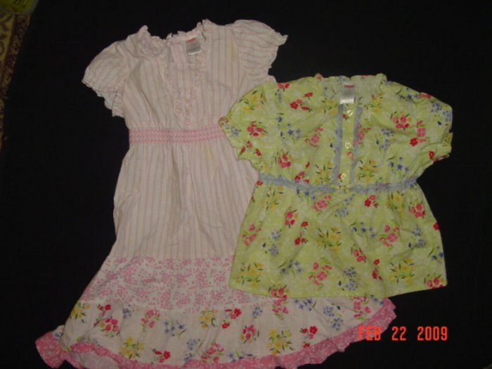 GYEMBOREE~EASTER~LOVE IS IN THE AIR~TOP SZ 6~DRESS SZ 5~SPRING