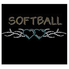 Softball Tribal w/ Hearts