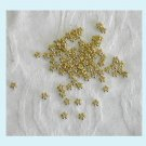 100 Pieces Gold Color Bead Spacers 4mm Free Shipping
