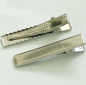 20 Pieces of Rectangle Alligator Hair Clips free Shipping