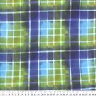 Clear Plaid Blue 36X60