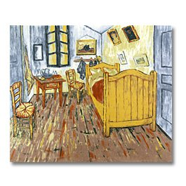 Van Gogh the Bedroom Panel