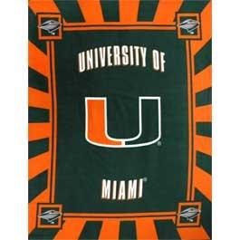 University of Miami Hurricanes Panel