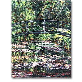 Monet Water Lillies Panel