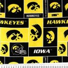 University of Iowa Hawkeyes 72x60